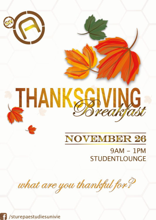 thanksgiving brunch flyer