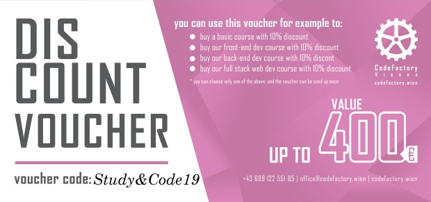Voucher CodeFactory Hochschule